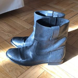 Frye leather short boots